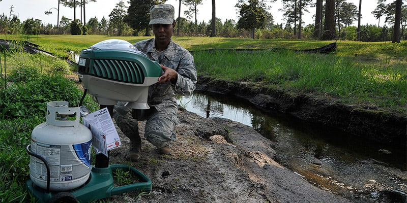 research on mosquito traps