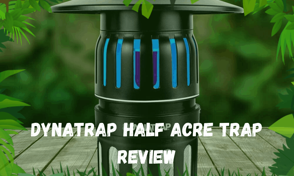 DynaTrap Half Acre TRAP REVIEW