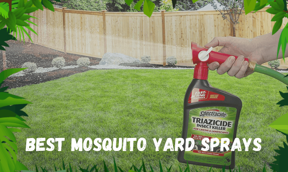 Best Mosquito Yard Sprays